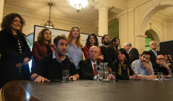 """Presentado el viernes pasado en la Legislatura porteña, el proyecto de norma reconoce a los centros culturales tras un raid de clausuras """"arbitrarias"""" del macrismo. Fotografía: Marcos Drago"""
