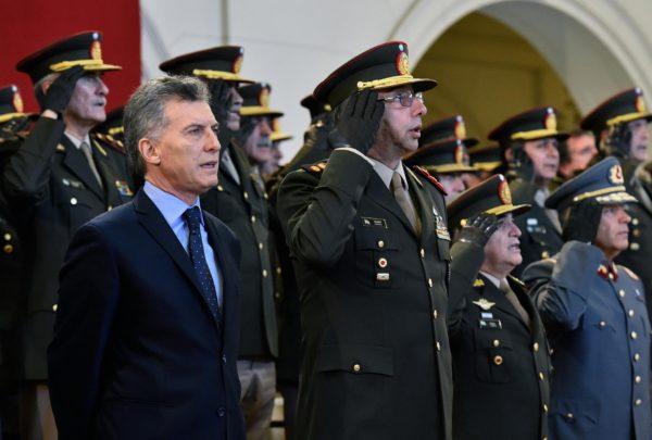 Télam 30/05/2016 Buenos Aires: El presidente Mauricio Macri encabezó esta mañana el acto por el Día del Ejército Argentino, en el Colegio Militar de la Nación, en El Palomar, provincia de Buenos Aires.Foto: Presidencia