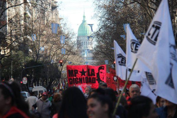 Fotografía: Movimiento Popular La Dignidad